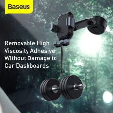 Baseus Gravity Car Phone Holder + Suction Cup Adjustable Universal Mount Holder for Phone in Car Cell Mobile Smartphone Support