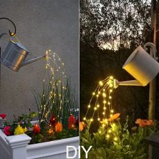 Solar Powered Twinkle Fairy Lights 10 Strands 200 LEDs Waterproof Timbo String Lights Decorative Solar Lights for Outdoor Garden