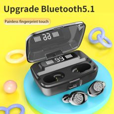 Wireless Headphones TWS Bluetooth5.0 earphone HiFi IPX7 Waterproof earbuds Touch Control Headset for sports /game