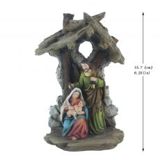 Zayton Figurine Holy Family Nativity Scene Home Decoration Christ Jesus Statues Mary Joseph Miniature sculpture Christmas gift