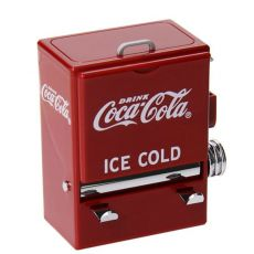 1PC Personality Retro-Cola Toothpick Box Vending Machine Style Pressing Toothpick Case Dispenser Plastic Holder Ornament