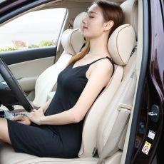Universal Car Seat Pillow Headrest Memory Foam Travel Neck Pillow Massage Office Chair Lumbar Support Cushion Auto Accessories