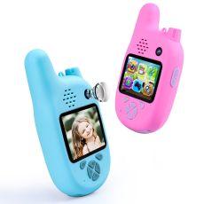 Children Walkie Talkie with VCR,Mp3 Video Recorder Smart Digital Camera