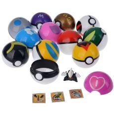 12 Pcs/Set Pocket Monster Pikachu Action Figure Pokemon Game Poke Ball Model
