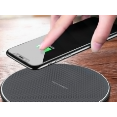 Fast Wireless Charger Pad for Iphone Qi Wireless Charging Stand for Android Phone Car