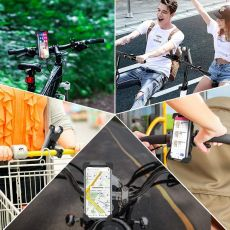 Bike Phone Holder For iPhone X Bicycle  Motorcycle Phone Stand Cellphone Holder Bike Phone Mount For Samsung S10 XiaoMi