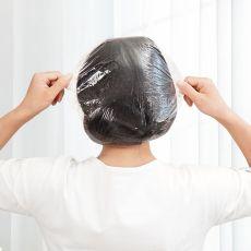 100pcs/lot Shower Caps Hat Clear Spa Hair Salon Hotel One-Off Bathing Elastic Shower Cap