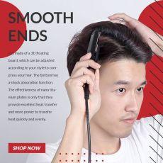 Ceramic Mini Hair Curler Straightener Hair Iron High Quality flat iron Straightening hot comb mini hair straightener