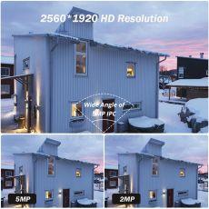5MP PTZ Wifi IP Camera 1080P Outdoor 4X Digital Zoom Security CCTV Camera AI Human Detect Auto Tracking P2P Wireless Camera