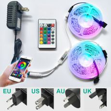 Bluetooth Led Strip Light 2-30M RGB SMD5050 2835 Led Lights Tape Flexible Non waterproof 12V LED Strip Ribbon for Home Christmas