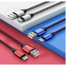 Samsung  Xiaomi Data Cable Mobile Phone Fast USB Charger Cable Android Cord