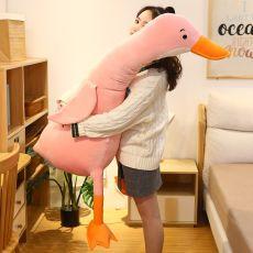 Cute Cotton Goose Stuffed Toys Animal Baby Accompanying Dolls Plush Comfort Dolls Soft Pillow Nordic Home Decor