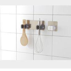 Multi-Purpose Hooks Wall Mounted Mop Organizer Holder Rack Brush Broom Hanger Hook Kitchen bathroom