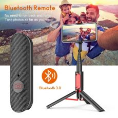 Wireless Bluetooth Selfie Stick Tripod Monopod With Mobile Phone Holder Suitable For Live Video Calls Between Ios And Android