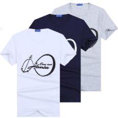 Men's Crew Neck T Shirt Tee Short Sleeve