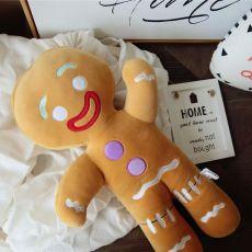 Man Plush Toys Biscuit Man Stuffed Soft Cute Pillow kawaii Bear Xmas Birthday Gift for Kids