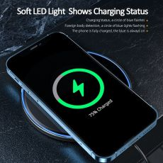 Qi Magnetic Wireless Charger For iPhone 12 11 Pro Xs Max X Induction Fast Wireless Charging Pad