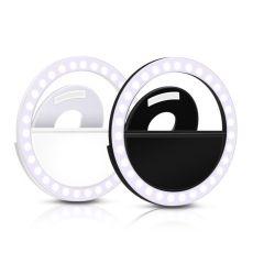 Universal Selfie LED Ring Flash Light Portable Mobile Phone 36 LEDS Selfie Lamp Luminous Ring Clip