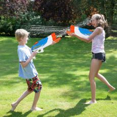 Water Guns  4 Nozzles Water Blaster High Capacity 1200CC Squirt Gun 30ft Water Pistol Water Fight Summer Toys Outdoor for Kid