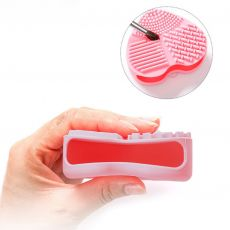 Wash Cosmetic Brushes Cleaner Makeup Washing Brush Gel Cleaning Mat Silicone Foundation