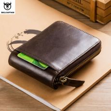 Leather Purse Male Wallet Multifunction Storage Bag Coin Purse Wallet's Card Bags