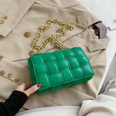 Women Designer Leather Shoulder Bags Small Flap Messenger Handbag Chain Tote Bag