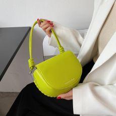 Saddle Crossbody Bag for Women 2021 Summer Luxury Baguette Shoulder Purses and Handbags