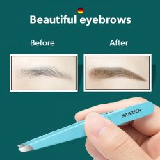 Tweezer Colorful Hair Beauty Fine Hairs Puller Stainless Steel Slanted Eye Brow Clips Removal