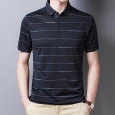 Ymwmhu 2021 New Arrival Polo Shirt Striped Short Sleeve Summer Cool Shirt Streetwear Fashion Male Polo Shirt Men Tops Clothes