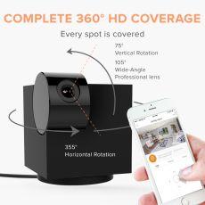 HD IP Camera WiFi Night Vision 2-Way Audio Home Monitor PTZ Surveillance Cameras