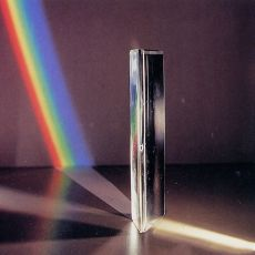 1pcs  Optical Glass Right Angle Reflecting Triangular Prism For Teaching Light Spectrum Rainbow