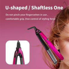 2 In 1 Professional Hair Straightener Hair Curler Iron Ceramic Styling Tools Flat Iron Hair Straighten