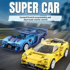 Remote control Sports Car Model Building Blocks Technical RC Racing Car Bricks Gifts Toys