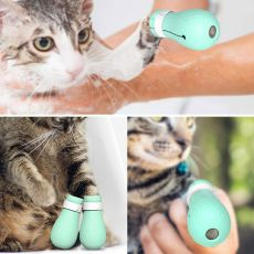 Cat Claw Cover socks Cut Nails Foot Bath Washing Pet Protector waterproof Boots Anti-Scratch
