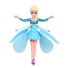 Frozen Princess Induction Aircraft Suspended Flying Flying Fairy Remote Control