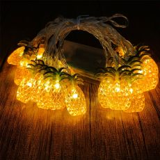 Pineapple Shaped LED Fairy String Lights Battery or USB Operation Wedding