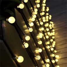 LED Solar Lamp Power LED String Fairy Lights Solar Garlands Garden Christmas Decor