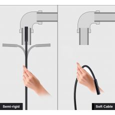 TYPE C USB Mini Endoscope Camera 7mm 2m 1m 1.5m Flexible Hard Cable Snake Borescope