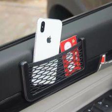 Universal Car Storage Bag Elastic Flexible Mesh Back Cargo Truck Storage Organizer Net Interior Accessories