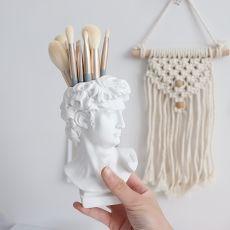 Brush Desktop Storage Box Student Penholder Vase Decoration Ornament Pen Holder Vase