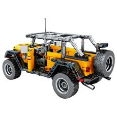 Back Sports Car Model Building Blocks City Technical Car Enlighten Bricks Toys