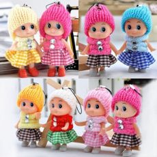 5pcs Kids Toys Interactive Baby Dolls Toy Mini Doll For Girls And Boys Reborn Doll Toy Gift