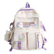 Women Backpack Fashion Waterproof Rucksack for Teen Girls School Bag Cute Student
