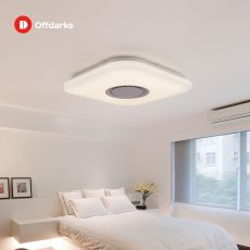 LED ceiling light, APP control Bluetooth speaker RGB dimmable 36W/52W living room bedroom
