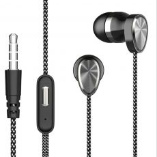 In-Ear Earbuds Headset 3.5 Mm Deep Bass Sound Headphone Electroplate Mini Earphones for Sports