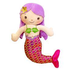 Plush Toy Cartoon Mermaid Humanoid Doll Doll Pillow Child Comfortable Stuffed Plush Toy