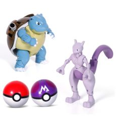 Action Morphing Pokeballs Transformation Toys For Child PIKACHU Charizard