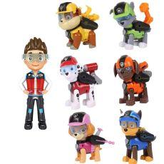 7pcs/set Paw Patrol Toys Dog Can Deformation Toy Captain Ryder Pow Patrol