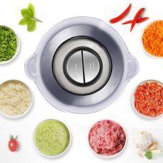 Capacity Electric Chopper Meat Grinder Mincer Food Processor Slicer