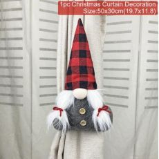 Christmas Faceless Doll Curtain Hug Xmas Decorations for Home Xmas Pendant Gifts Natal